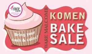 Komen Bake Sale