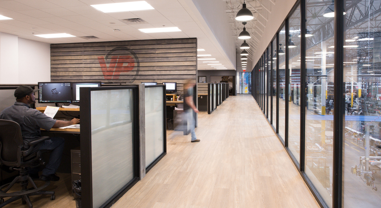 Western Windows Systems open office space