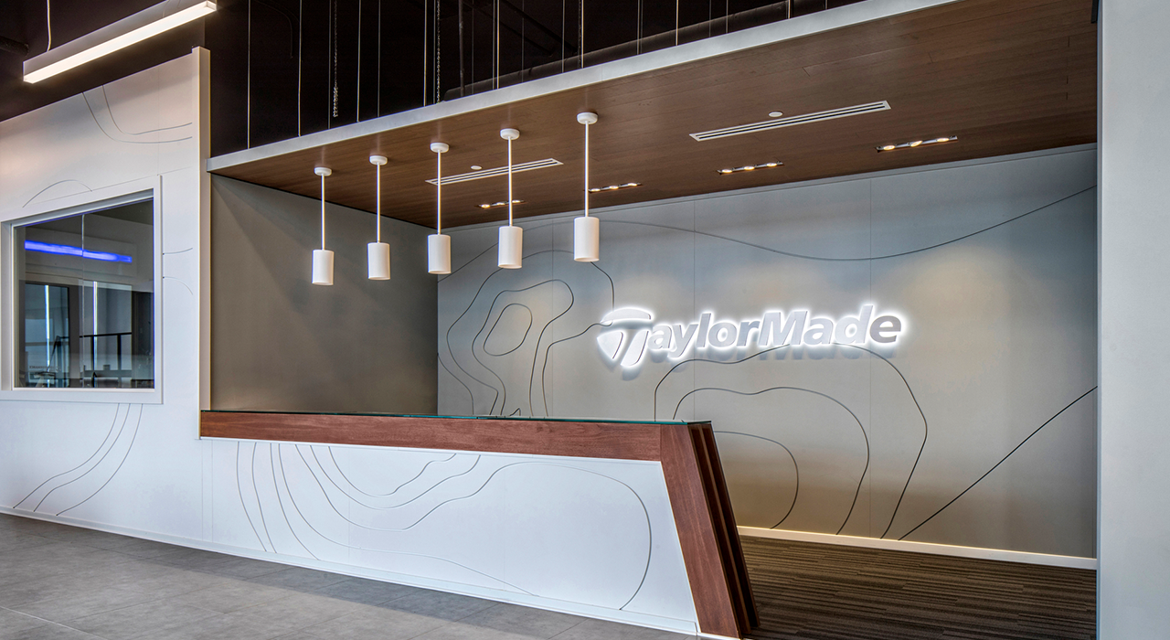 TaylorMade corporate office reception