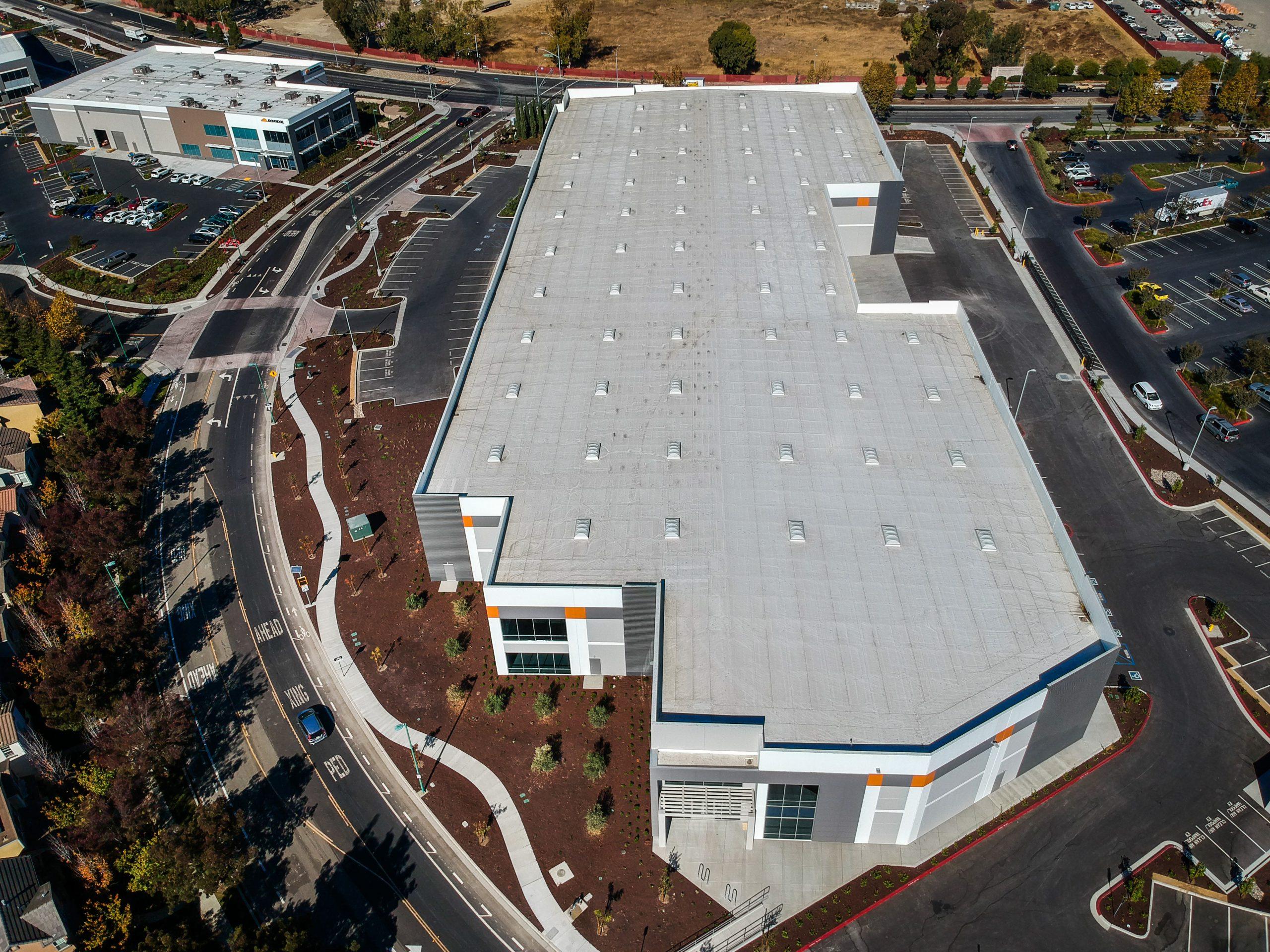 Steelwave Eden Shores industrial building