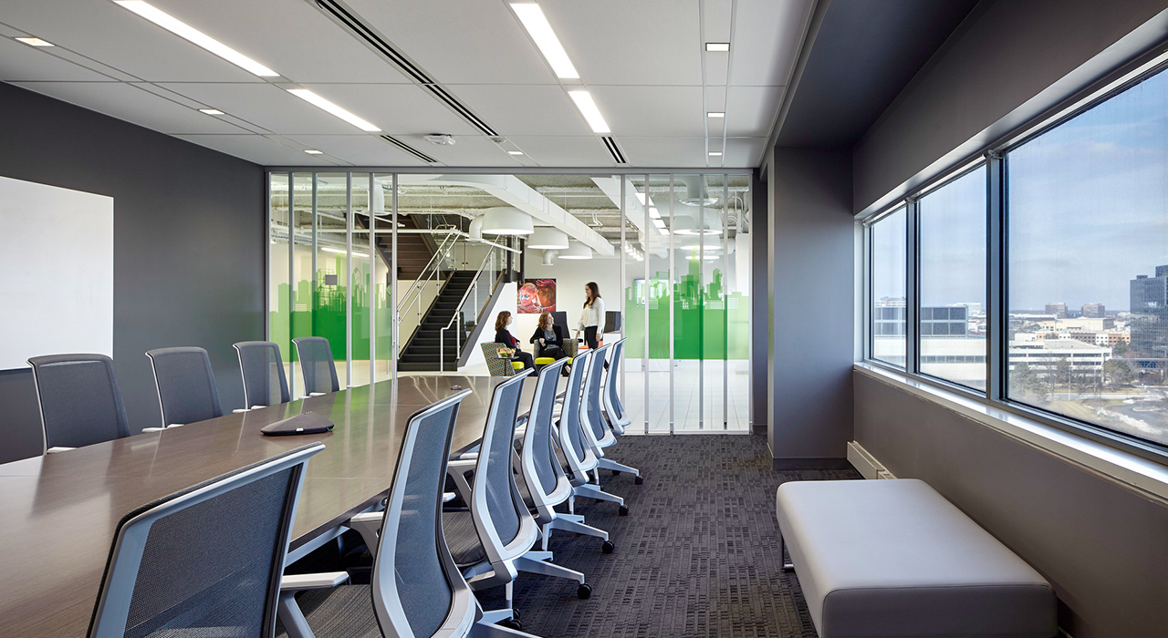 Schneider Electric conference room