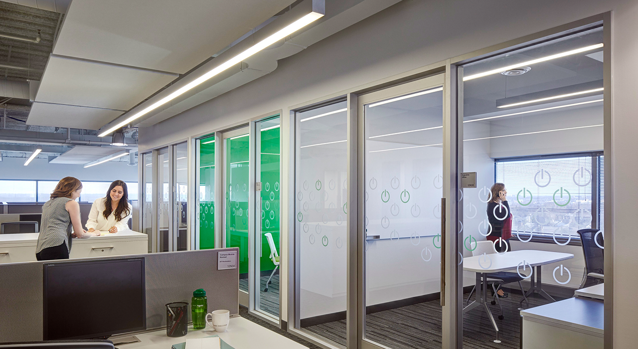 Schneider Electric open office space