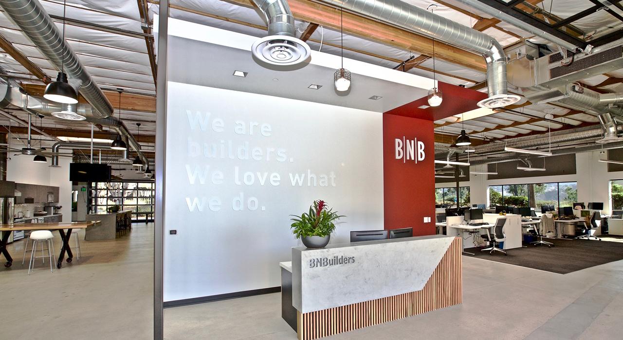 BN Builders reception