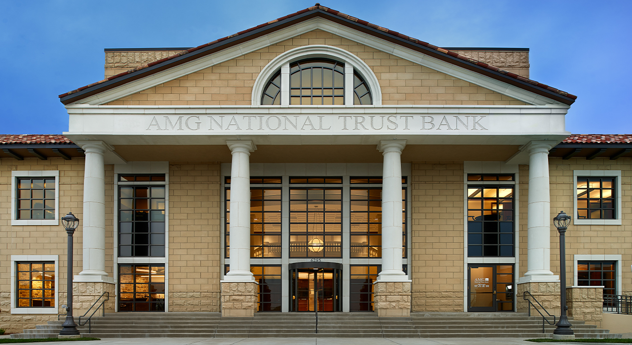 AMG National Trust Bank corporate headquarters