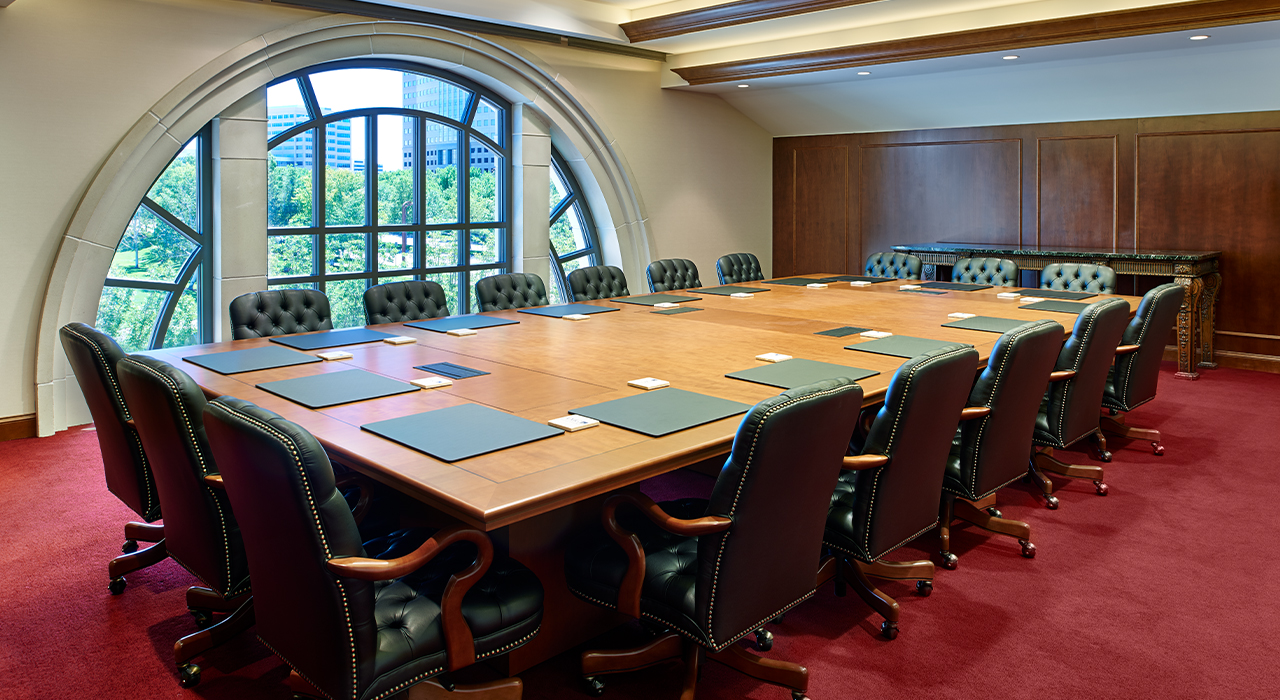 AMG National Trust Bank corporate headquarters conference room