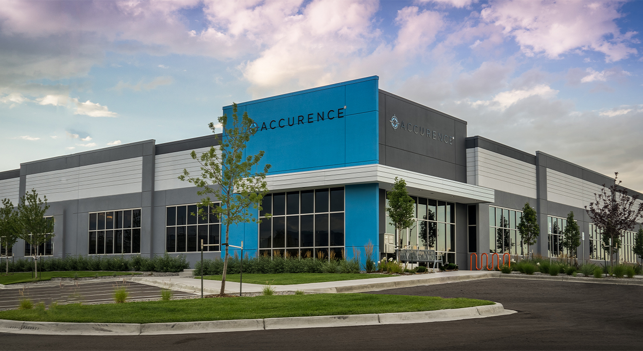 Accurence corporate headquarters office building
