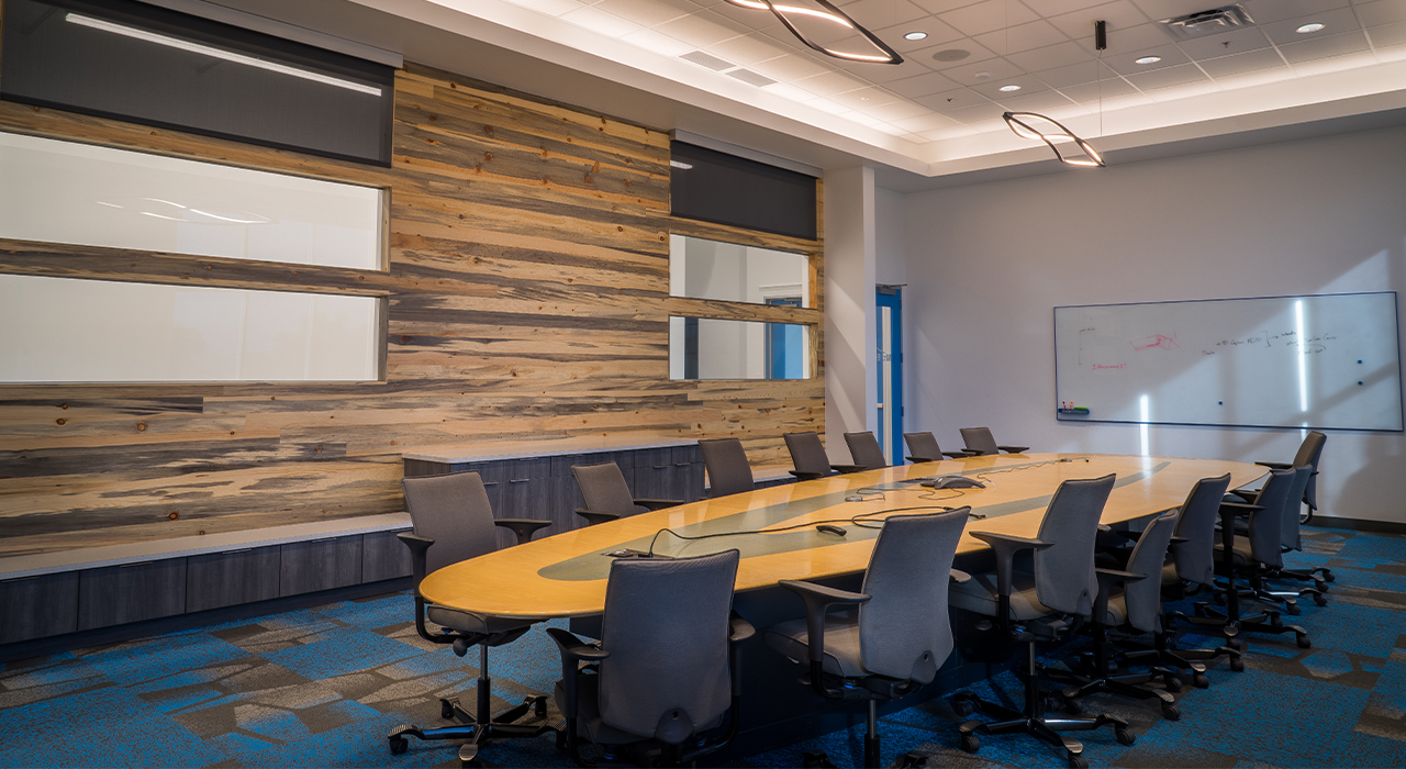 Accurence corporate headquarters conference room