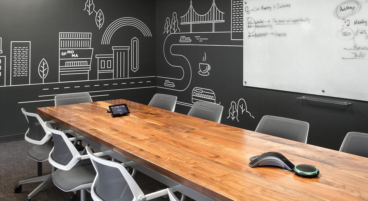 Upwork conference room