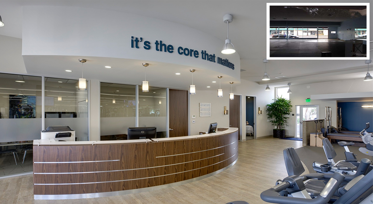 CORE F.I.T. reception transformation