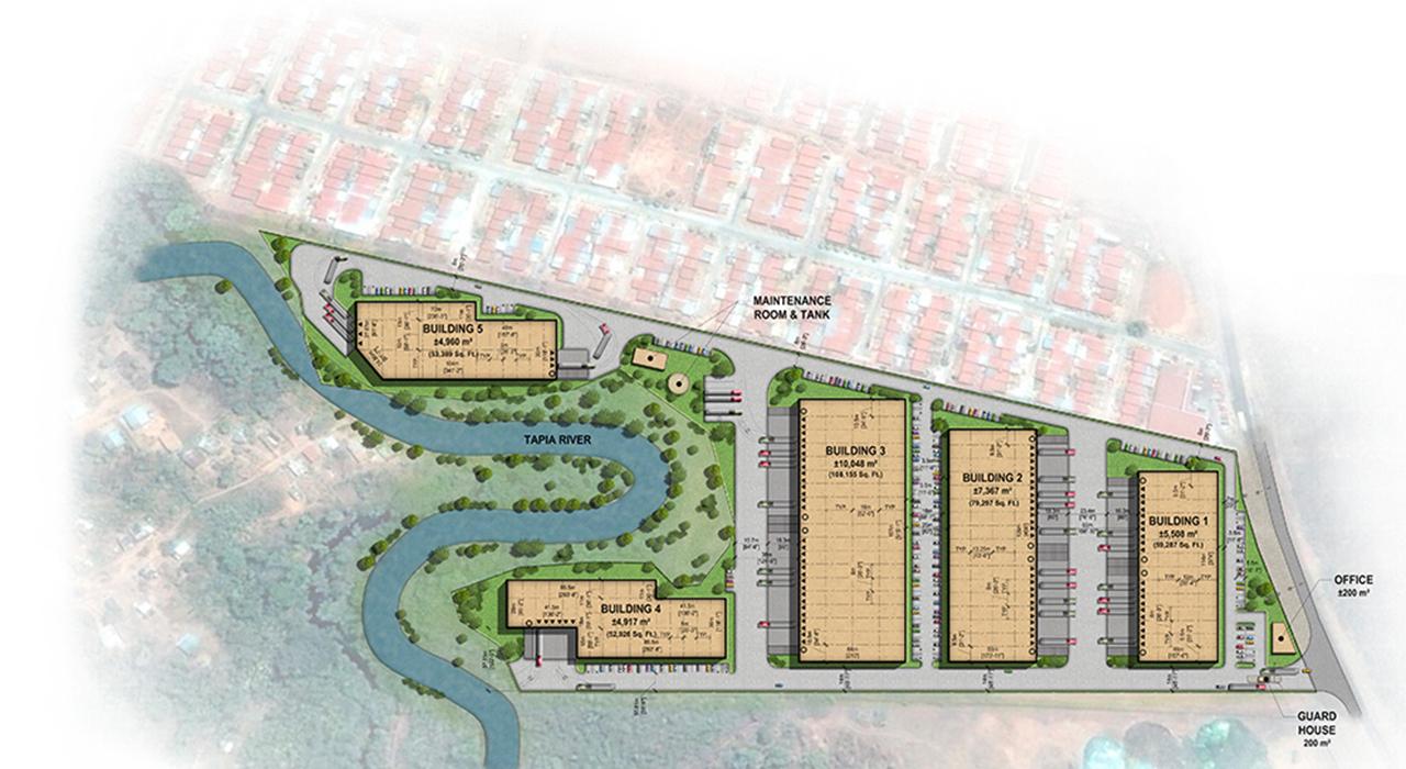 Mananitas Park master plan