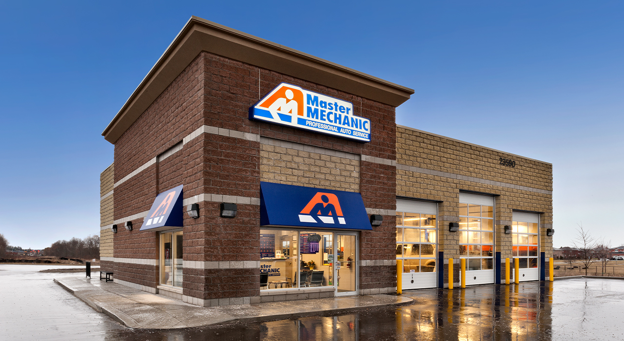 Master Mechanic build to suit retail store