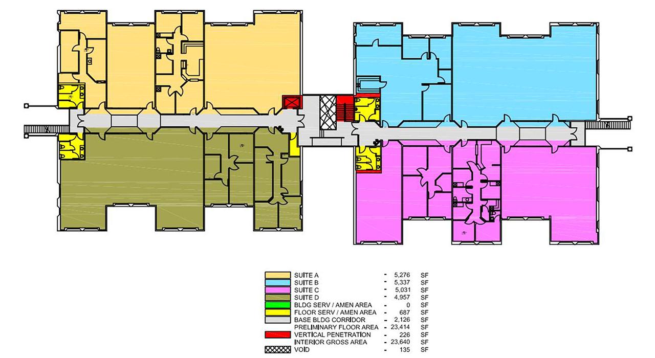 Medical Office Building rendering