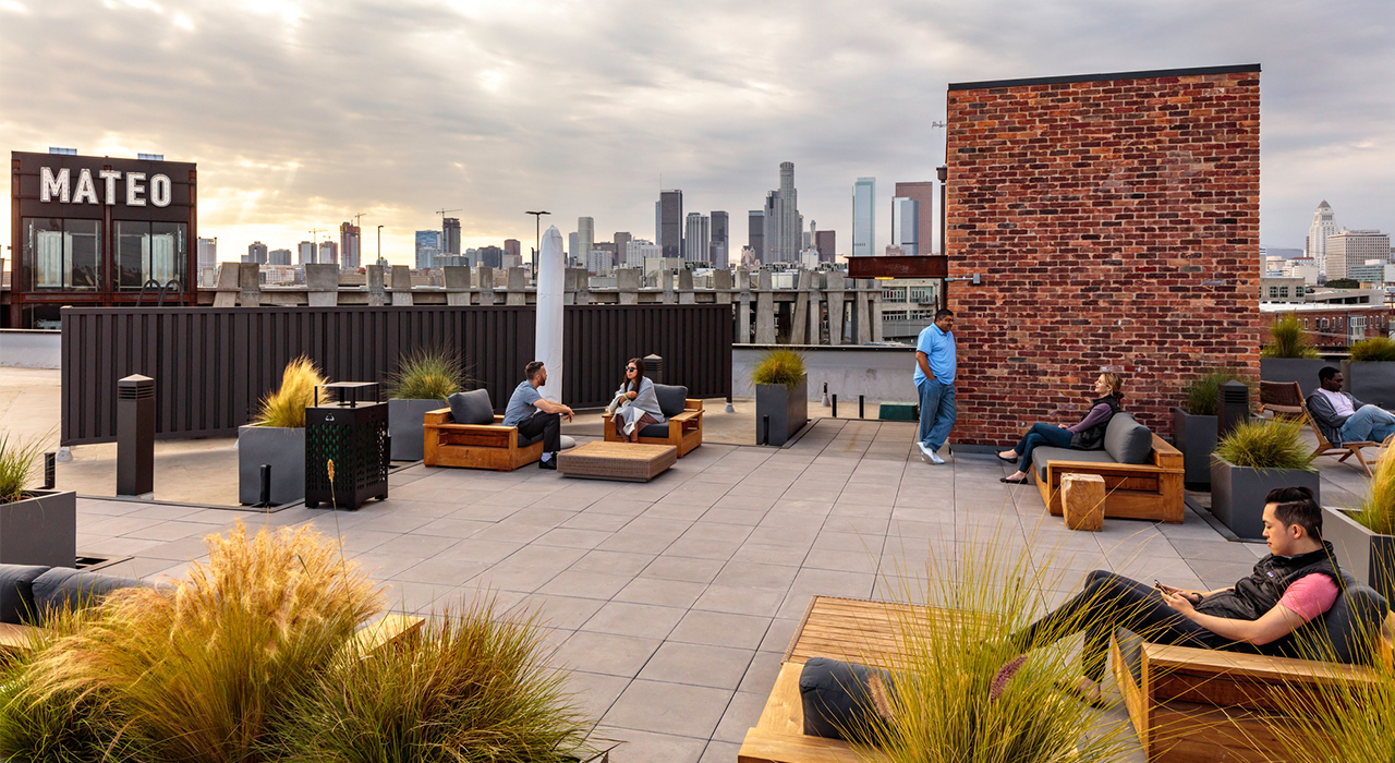 Soylent corporate headquarters rooftop space