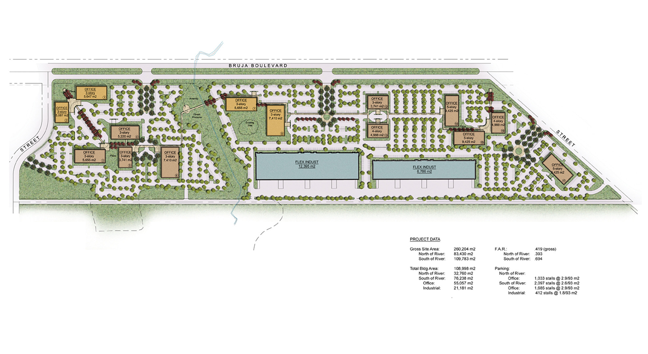 Panama Pacifico International Business Park master plan