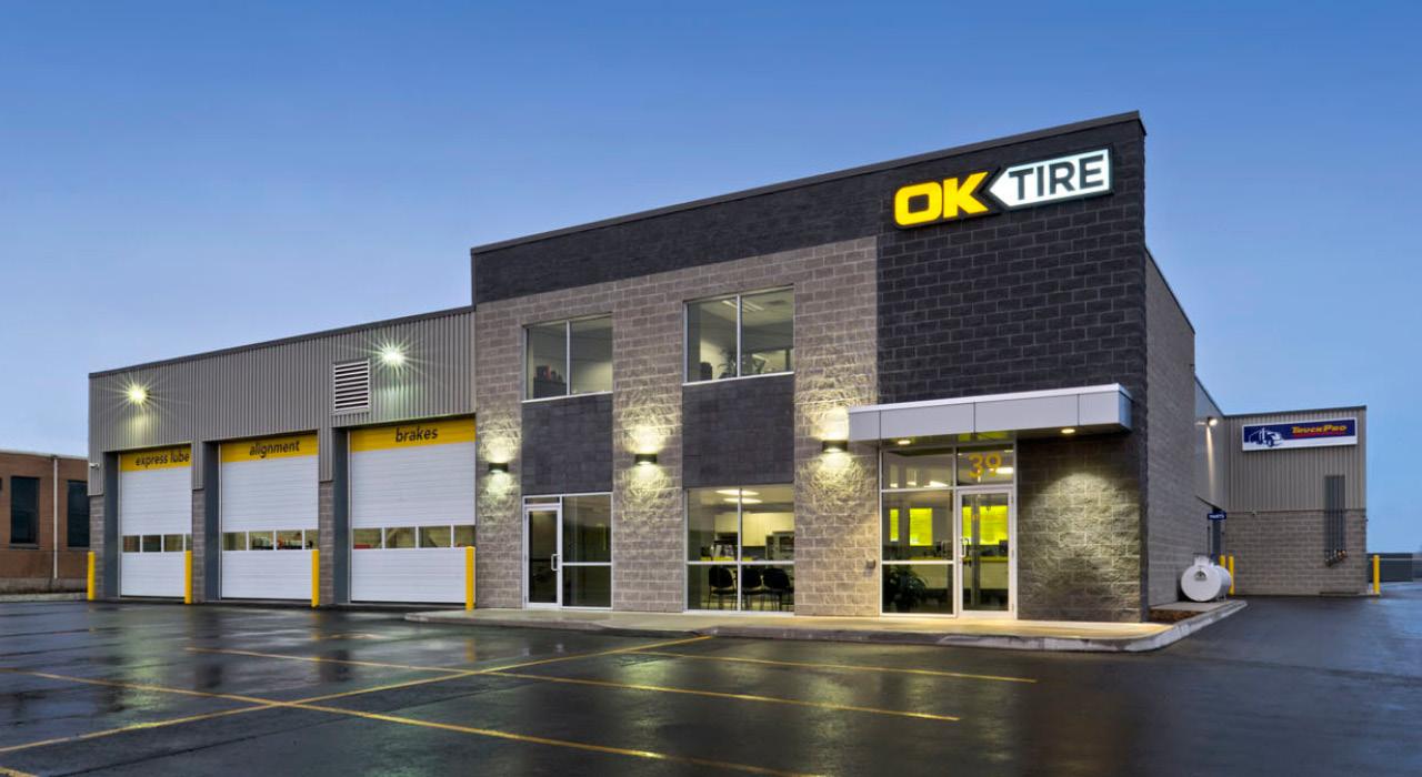 OK Tire retail store