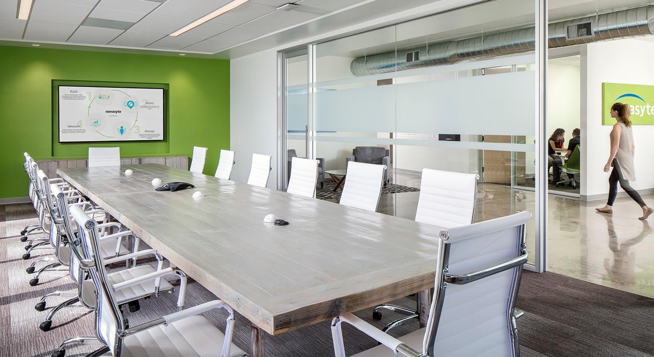 Novasyte flagship headquarters conference room