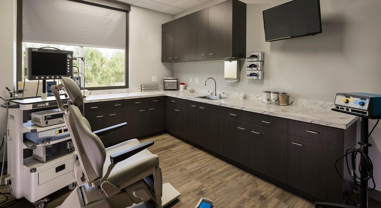 Arizona Desert Ear, Nose & Throat Specialists examination room