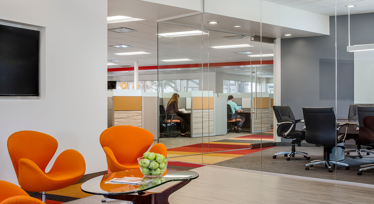 United Mechanical Inc. open office space