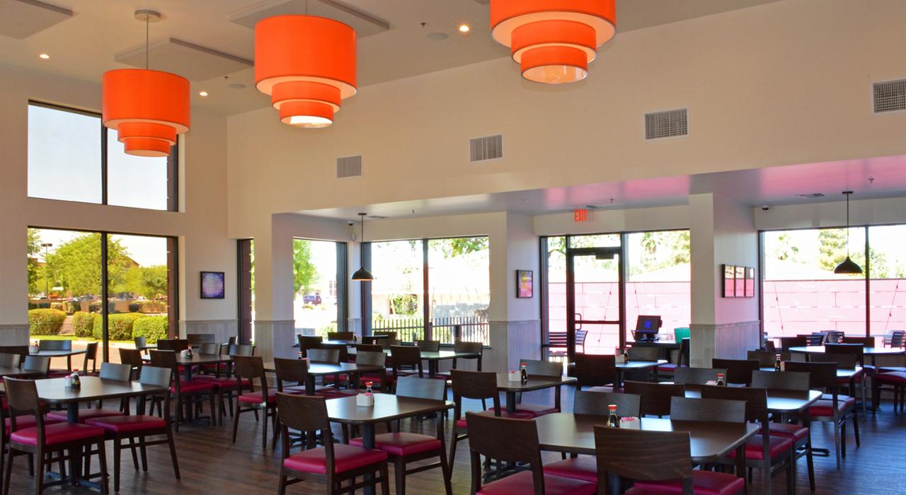 Flo's restaurant dining area