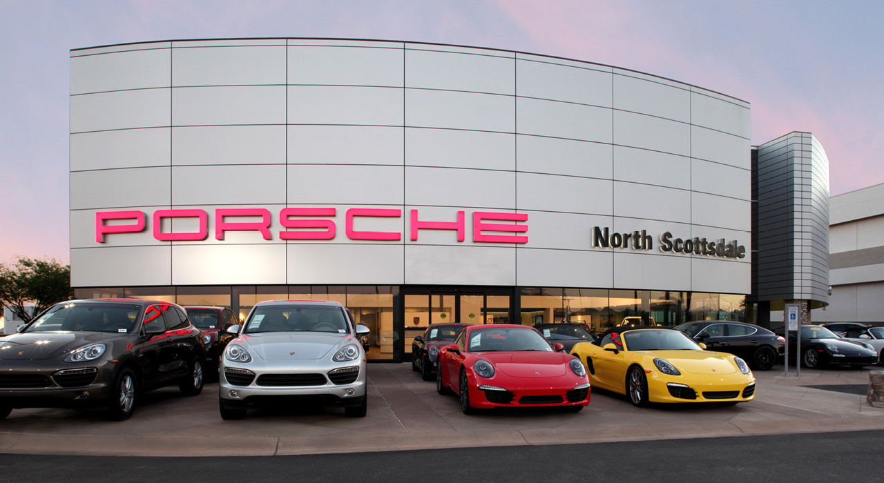 Penske Porsche dealership