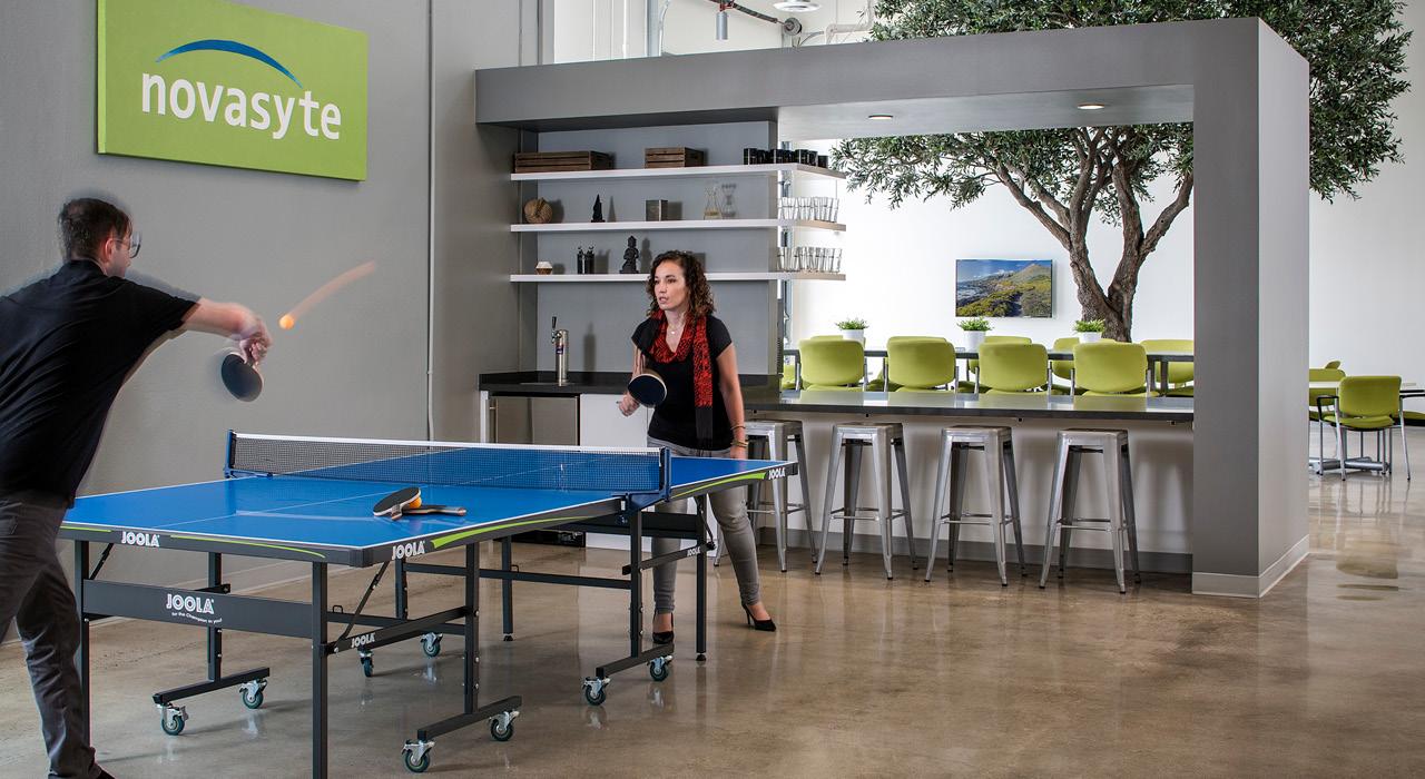 Novasyte flagship headquarters game area