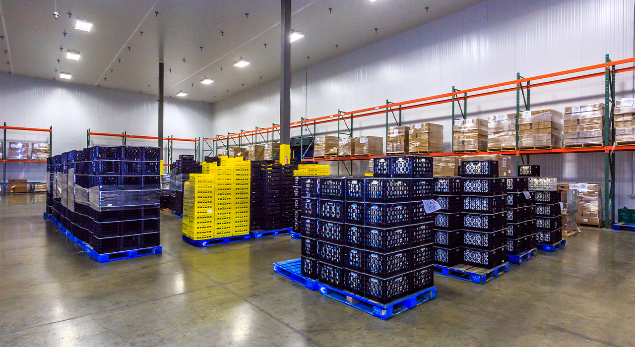 Quality Custom Distribution Services cold storage warehouse