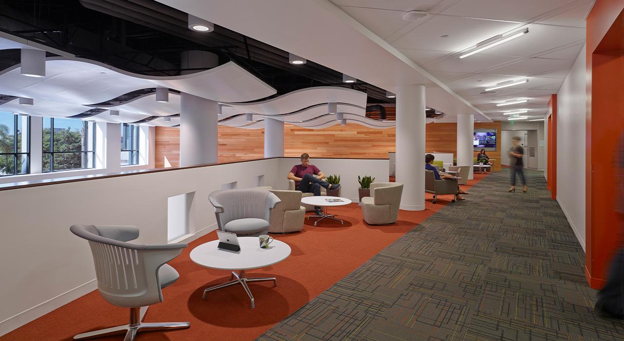 Qualcomm Building Q common area