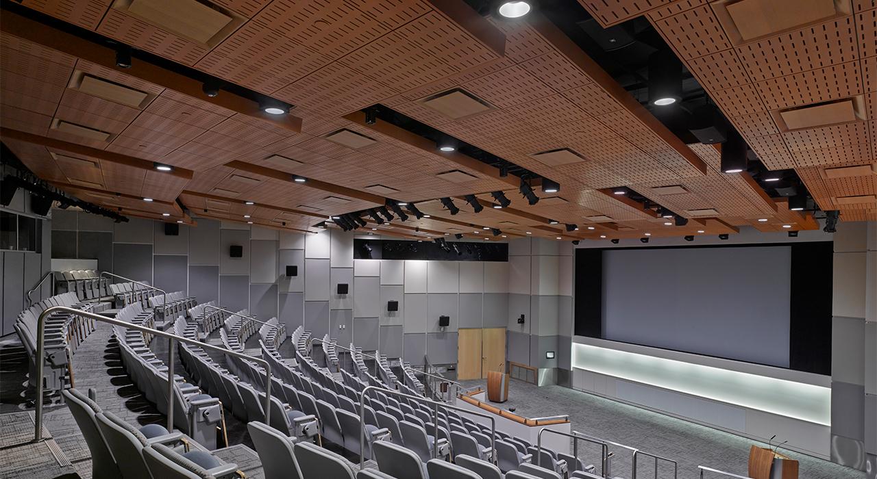 Qualcomm Building Q auditorium