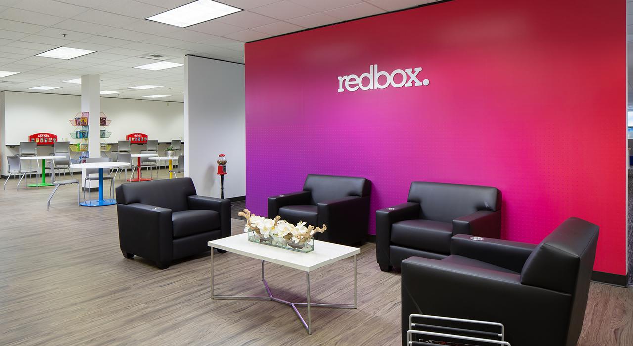 Redbox waiting area