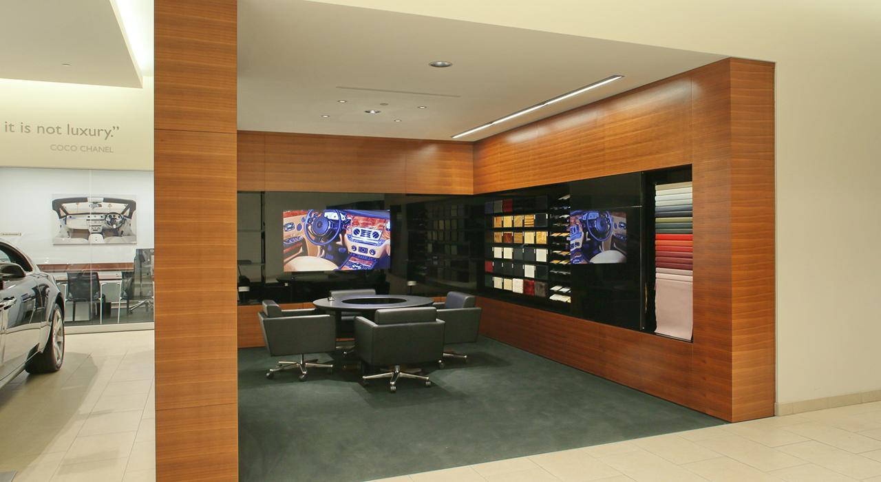 Rolls Royce design room