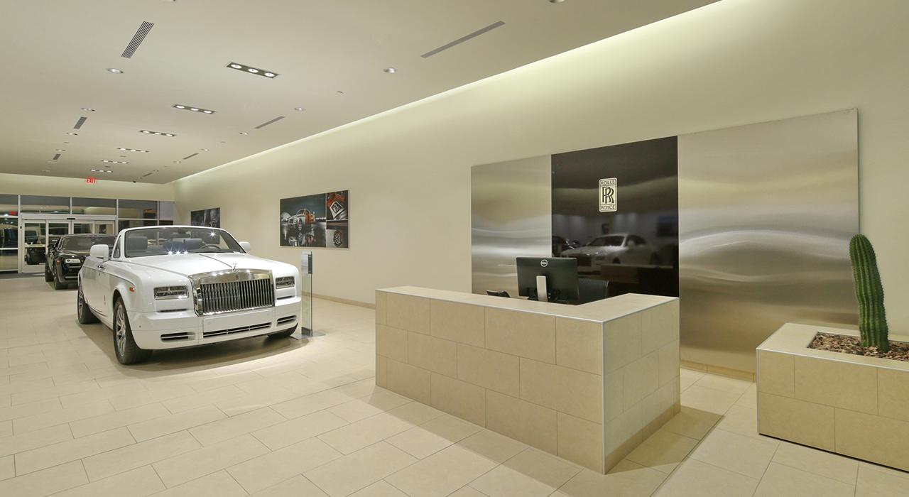 Rolls Royce show room