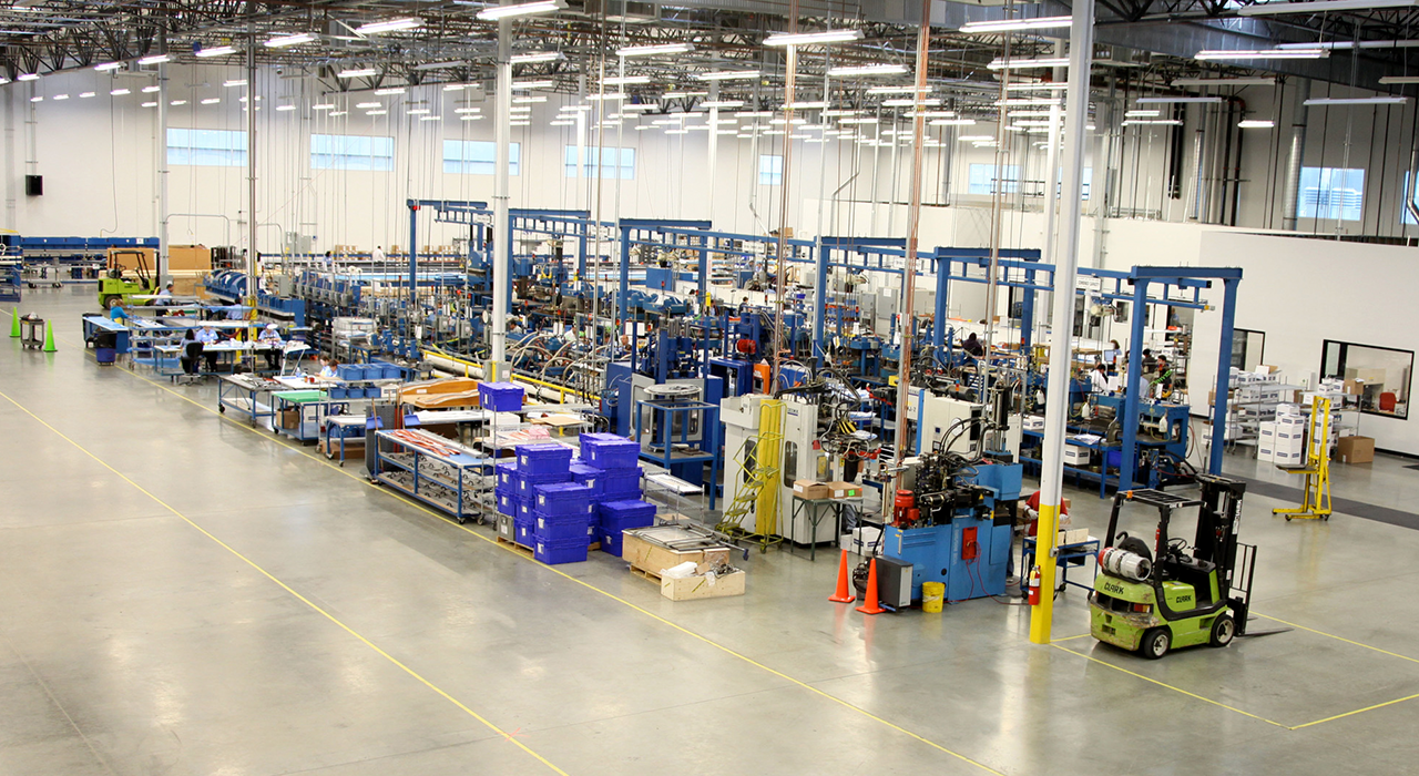 Rubbercraft manufacturing facility