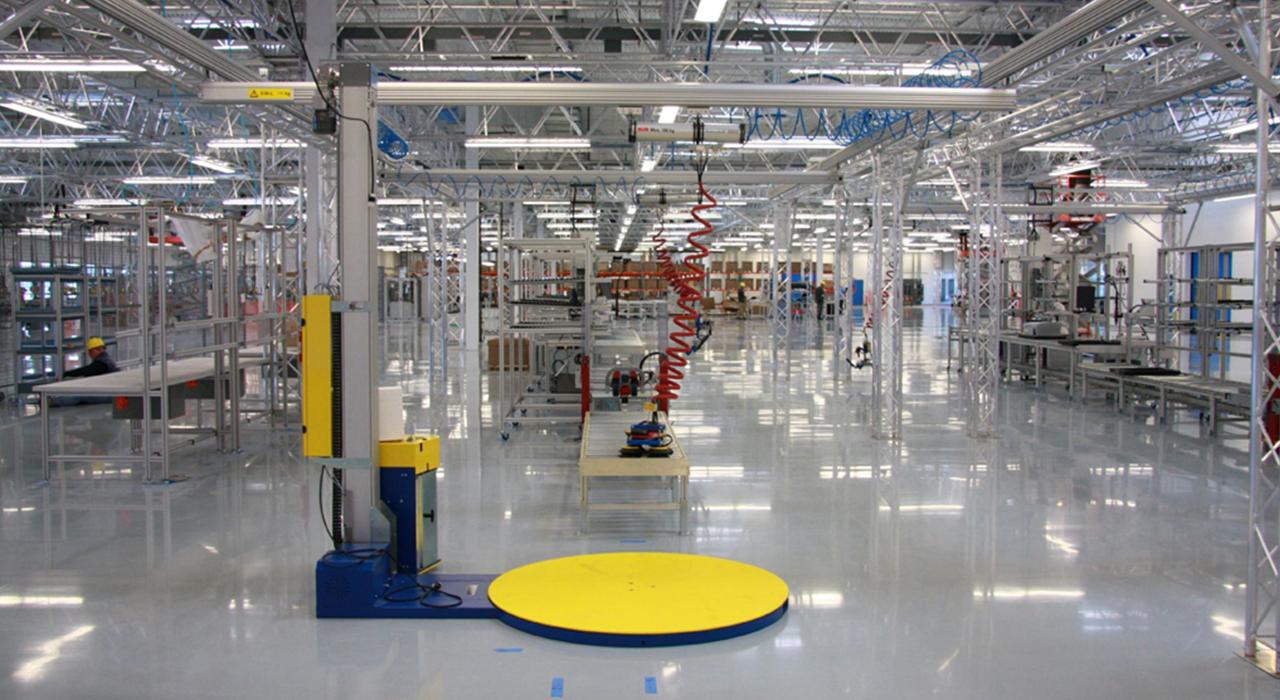 SMA Solar manufacturing facility