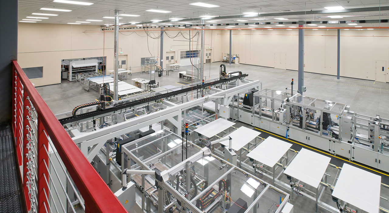 Suntech manufacturing space