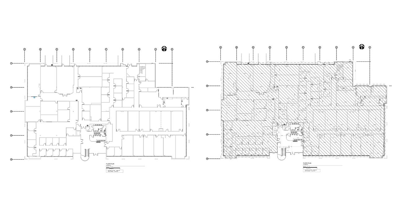 Office building master plan