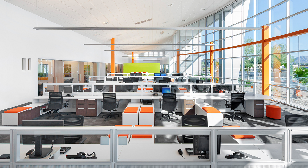 Vemma open office space