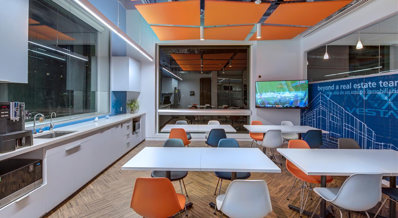 Vesta Corporate Headquaters break room