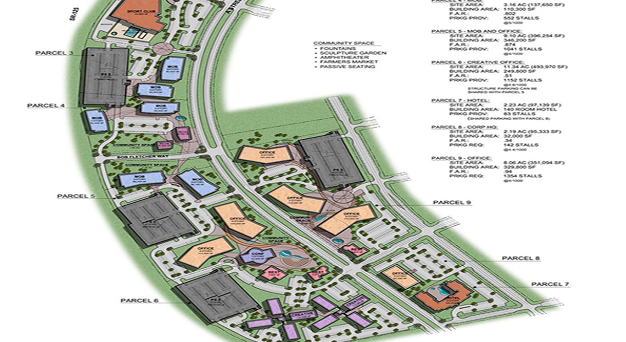 Eastlake Urban Center master plan