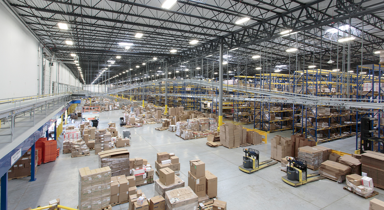 Edward Don corporate headquarters and logistics space