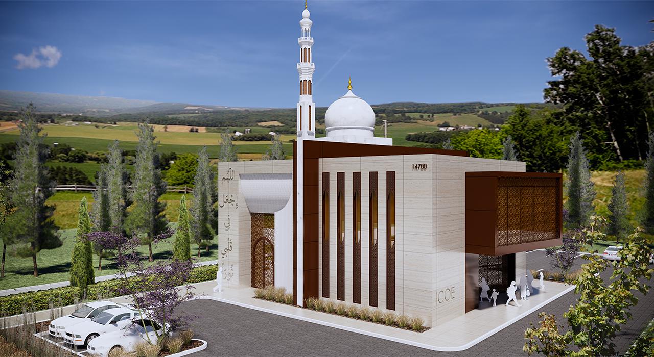 Islamic Center of Eastside rendering