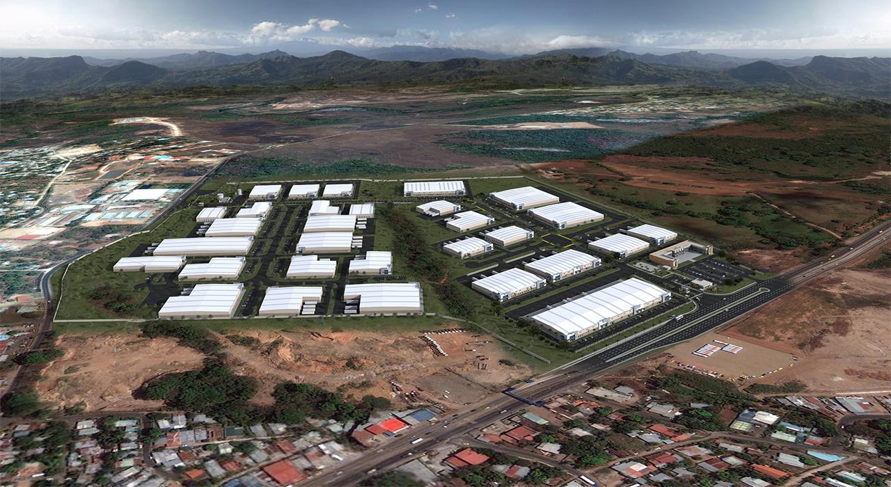 Parque Logistico master plan