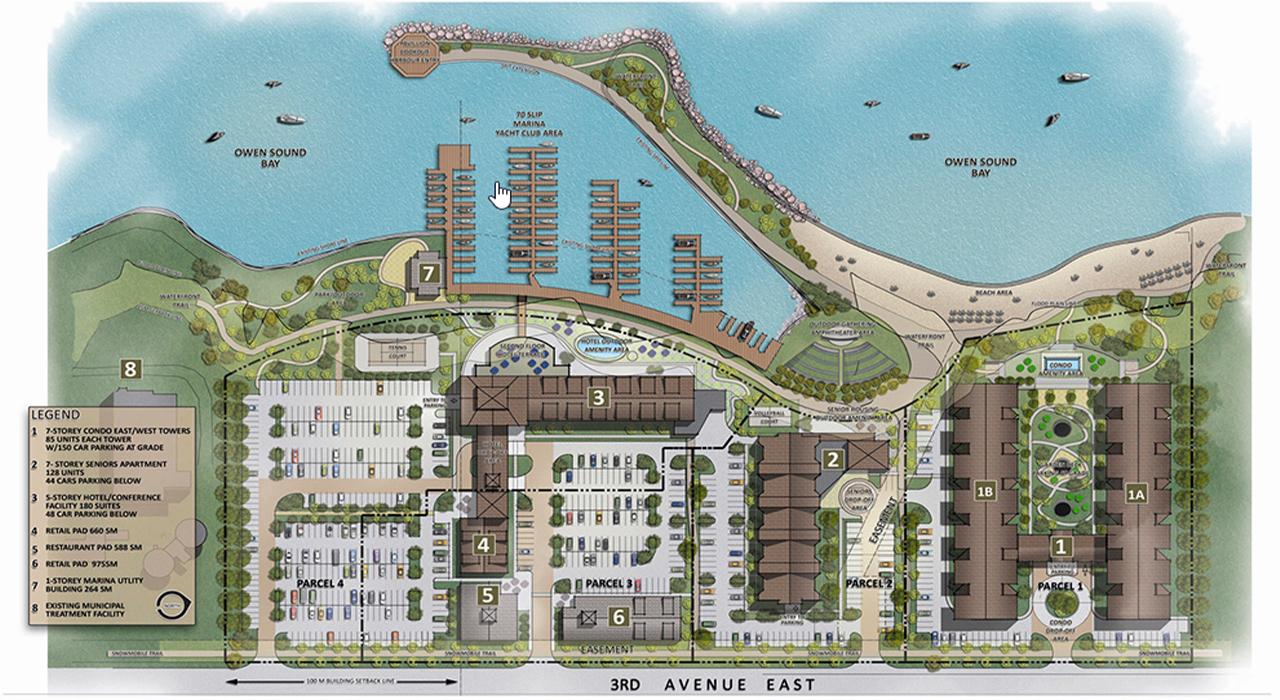 Georgian Bay Waterfront master plan