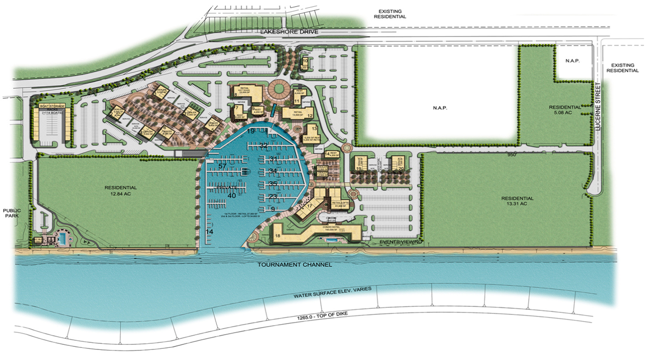 Water's Edge master plan