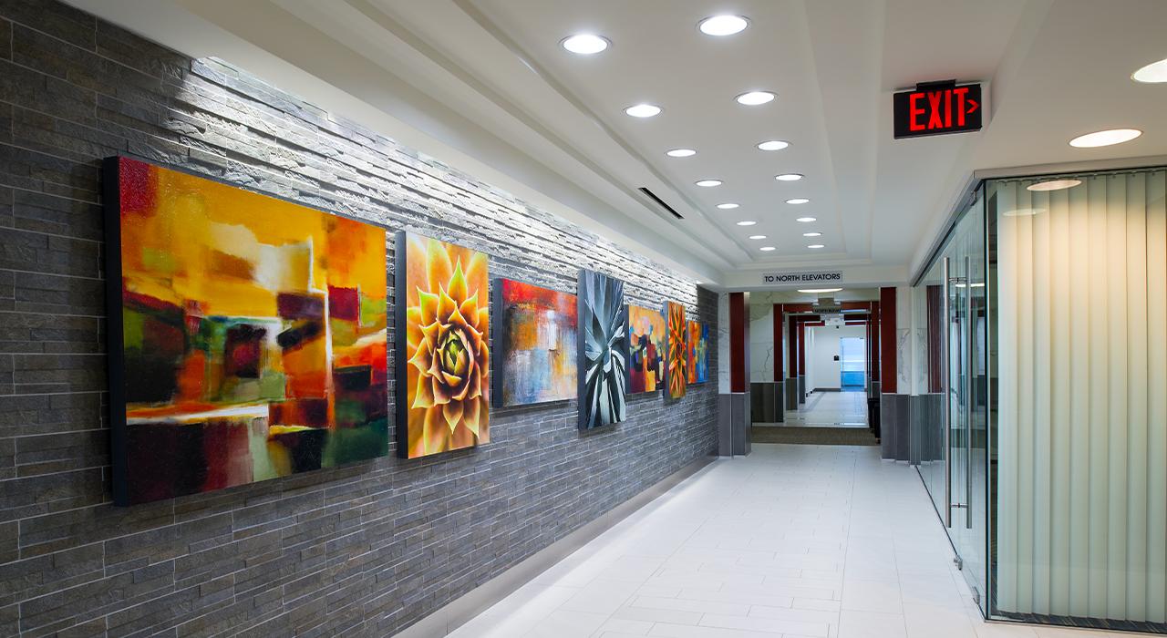 3550 Tower hallway