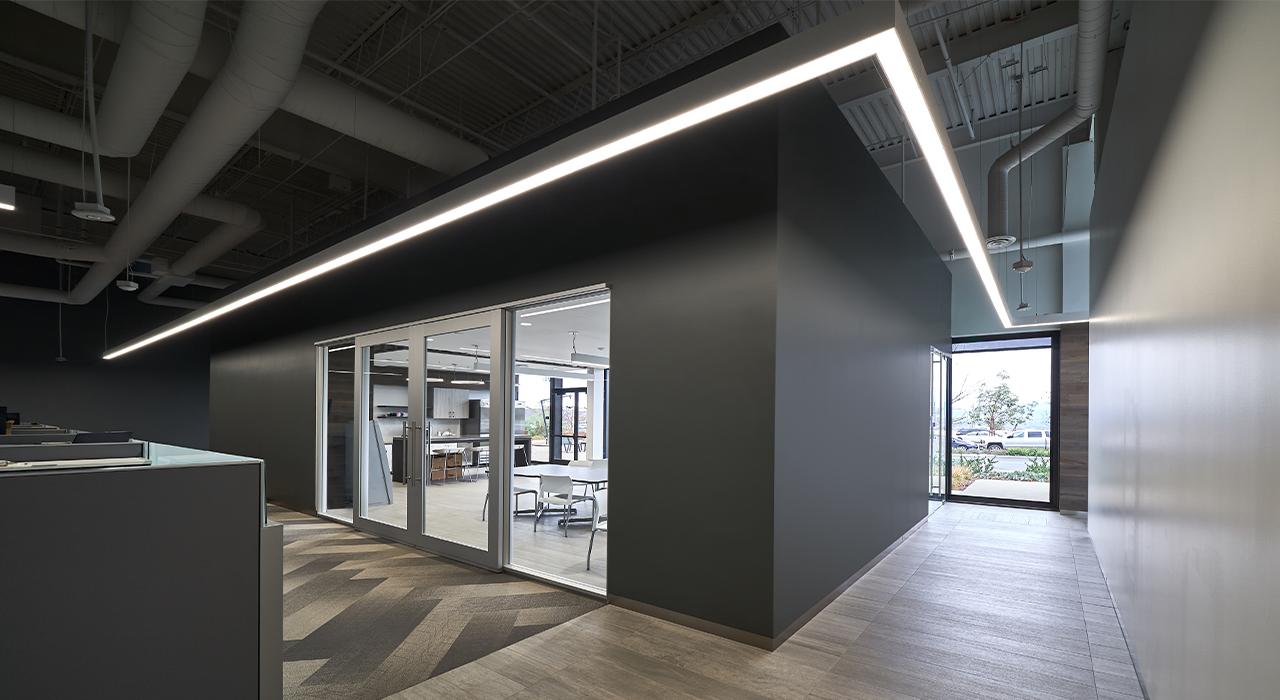 3D Systems hallway
