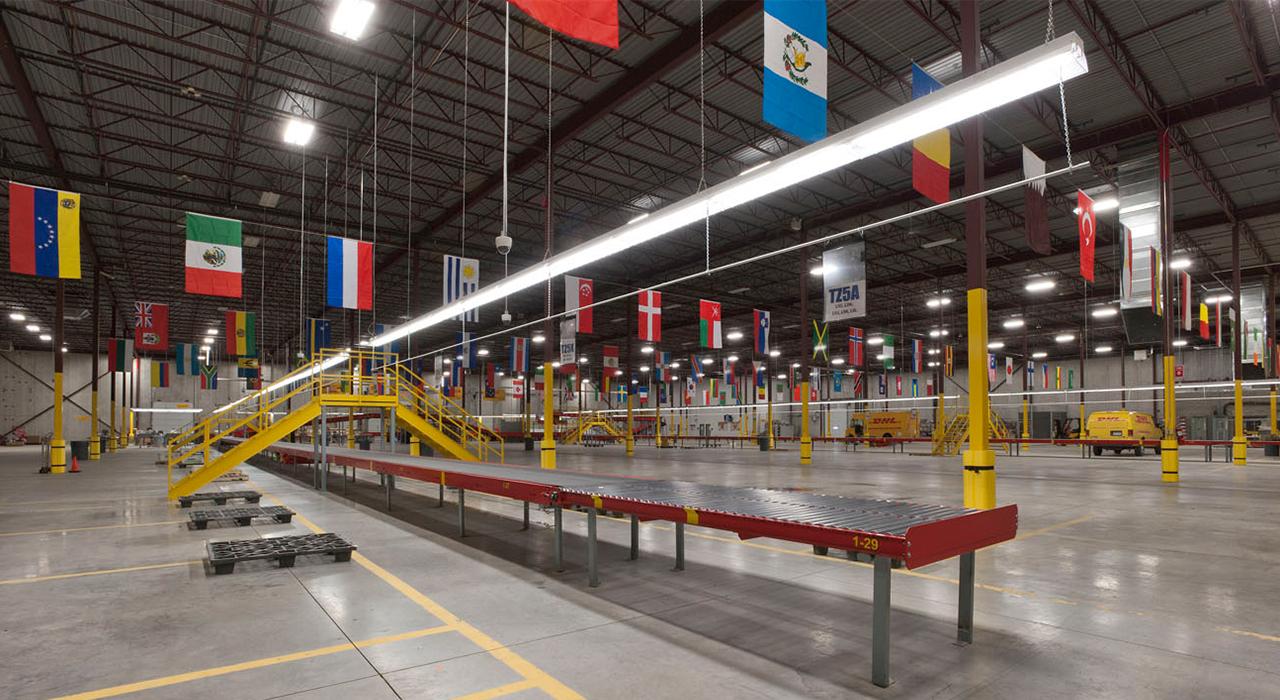 DHL warehouse