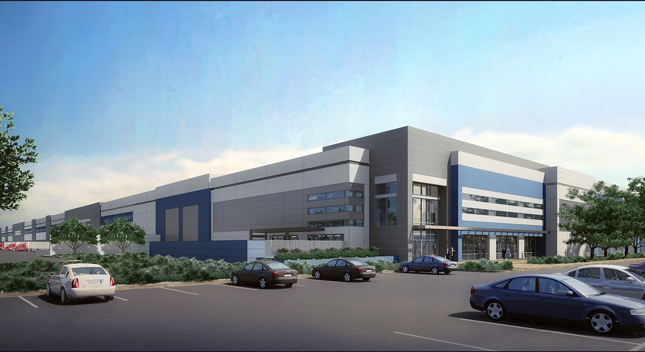 Southport Logistics Center rendering