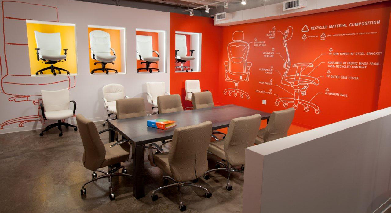 9to5 Seating conference room