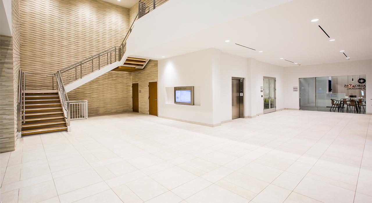 Accretive Huntington Beach Medical Office Building lobby