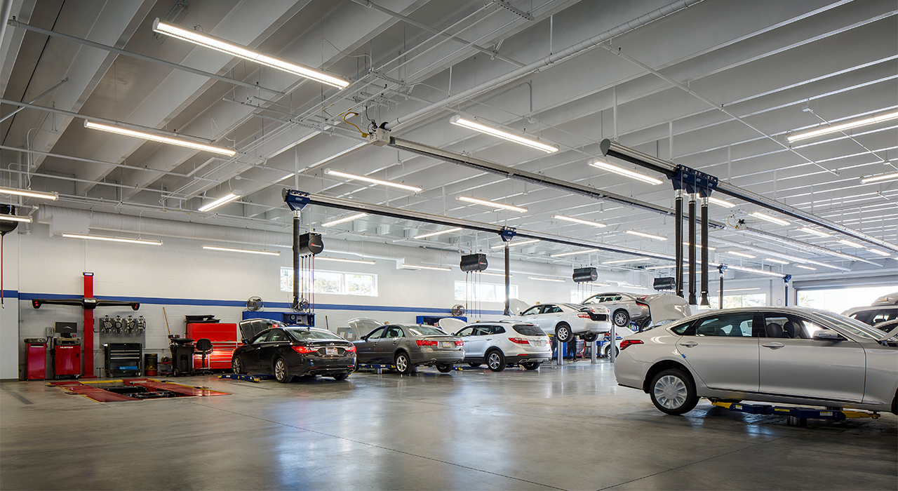 Allen Hyundai service area